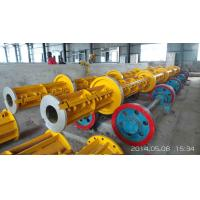 Cheap Prestressed Concrete Spun Pile Reinforce Casted Steel Moulds Technical parameter of pole steel mould for sale