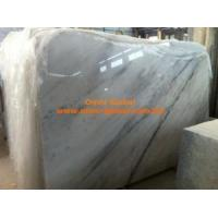 Cheap Omnisen Chinese White Marble Stone Slab/ Tile (GX) for sale