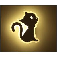 Cheap CAT Acrylic LED indoor wall lighting /Interior led wall lamp for kids room for sale