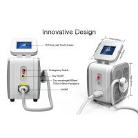 Cheap 3 Wavelength Diode Hair Removal Laser Machine / Lady Hair Removal Machine 755nm for sale