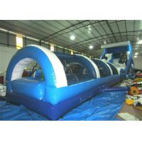 Quality Big Party Commercial Inflatable Water Slides 16 X 3.6 X 6m Silk Printing Safe Nontoxic wholesale