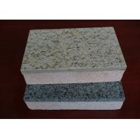 China Heat Insulation Cement Board Partition Exterior Wall Cladding / Flooring Waterproof and Fireproof on sale