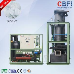 Cheap Bitzer Semi-Hermetic Piston Type Ice Tube Machine Tube Ice Making Machine wholesale