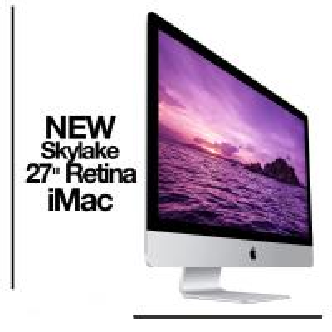 "Quality Apple Retina iMac 27"" 5k 4.0Ghz i7 SKYLAKE 32GB Ram 3TB Fusion Windows 10 NEW wholesale"