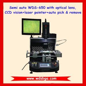 Cheap 110V/220V automatic bga rework station WDS-650 for bga Repair Macbook pro and macbook Air Machine for sale