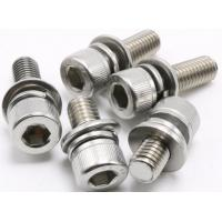 Cheap 6.8 8.8 2.9 Stainless Steel Washer Head Wood Screws M3 X 6mm ~ M10 X 100mm DIN912 for sale