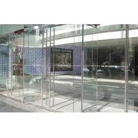 Cheap Exhibition Tempered Glass Low Iron , Ultra Clear Safety Reinforced Glass for sale