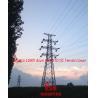 Buy cheap 110KV Transmission line drum type STD DC Tension tower,MEGATRO TUBULAR STEEL from wholesalers
