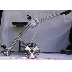 China 106E shark electrical golf trolley on sale