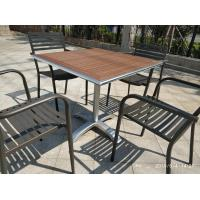 Cheap Cross Table base Aluminum Table leg Outdoor Furniture Leisure Table chair for sale