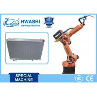 Buy cheap 6 Axis Automatic Welding Robot for Aluminium Car Radiator from wholesalers