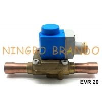 China Danfoss Type 7/8 EVR 20 Series Air Conditioner Solenoid Valve 032F2243 on sale