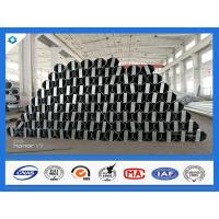 Cheap 40FT 11900mm 3mm Thick Octagonal Galvanized Electric Steel Poles for sale