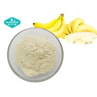 Cheap Light Yellow Fruit And Vegetable Powder / Freeze Dried Banana Fruit Powder Making Soft Drink for sale
