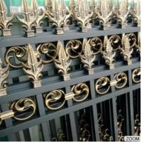 Cheap Outdoor Aluminum Garden Fencing Custom Designed Decorative Security and Privacy Luxury wholesale