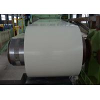 Color Coated Prepainted Steel Coil Zinc 40g - 180g Acid / Alkali Resistant