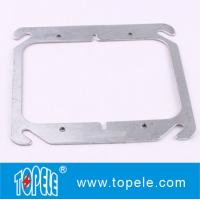 """Cheap TOPELE 4"""" FLAT BLANK SQUARE COVER FOR TWO GANG OUTLET BOXES , GALVANIZED STEEL for sale"""
