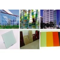 Cheap Colorful Golden Bronze Silkscreen Printed Glass Curtain Wall And Furniture Glass 6mm for sale