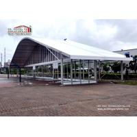 Buy cheap Aluminum Frame Arcum Outdoor Exhibition Tents With Glass Walls SGS from wholesalers