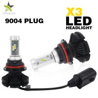 Cheap Auto Yellow Amber White Led Car Headlight Bulbs 30000 Hours Operating Life for sale