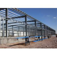 China Long Life Steel Structure Warehouse Easy Build With Rolling up Door on sale