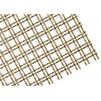 Cheap Staircases Isolation Screen Decorative Wire Mesh 50mm Aperture Square Hole for sale