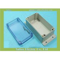 Cheap 195*90*60mm clear lid plastic waterproof box with wall mount flange for sale