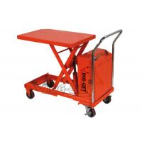 Cheap Mobile Electric Scissor Lifting Table Equipment Hydraulic Heavy Duty for sale