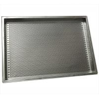 Buy cheap 304Stainless steel flat perforated baking mesh trays from wholesalers
