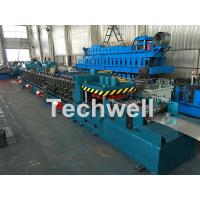 Cheap Galvanized / Carbon Steel CZ Shaped Roll Forming Machine For 0-15m/min Forming Speed for sale