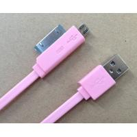 Cheap 2 In 1 HTC Micro USB Cable for sale