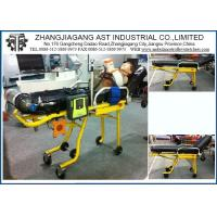 Cheap Steel Healthcare Medical Stretcher , Emergency Cots Auto Loading Ambulance for sale
