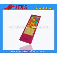 Cheap 2015  Hot Selling Plastic Music Sound Module/Educational Music Sound Pad for Books for sale