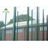 Cheap Anti - Corrosion 358 Security Fence Prison Mesh With Taper Post 85 * 45 * 85mm for sale
