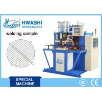 Buy cheap Iron Round WIre Mesh Welding Machine , Automtic Spot Welding Machine With Rotating Fixture from wholesalers