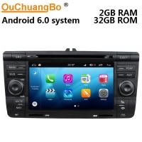 Cheap Ouchuangbo auto gps navi audio S200 platform android 8.0 for Skoda Octavia support USB SWC AUX wifi bluetooth for sale