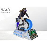 Cheap Children Attraction Amusement Park 9D VR Simulator / VR Motorbike Racing Simulator for sale