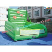 Cheap Outdoor Basketball 0.55mm PVC tarpaulin Inflatable Sports Games for little kids for sale