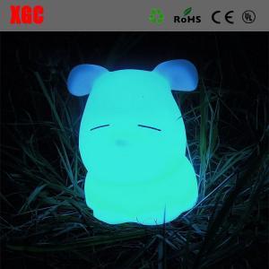 Cheap LED Decoration Animal Desk Lamp,Modern Cute Dog Shape Eco-Friendly Children Table Lamp for sale