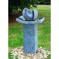 Natural Split Cast Stone Water Fountains With Fiberglass