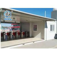 China Mobile Hotel Modern Prefab Houses / Folding Prefabricated House Station Container Office on sale