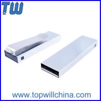 Solid Stainless Metal Tie Clip Usb Pen Drive 64GB for Business Man Easy to Carry