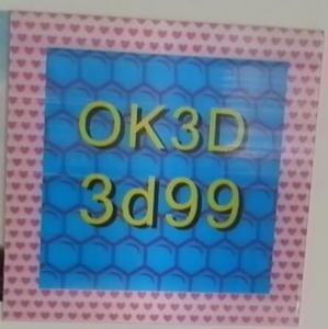 Cheap OK3D hot sales fly-eye lens 3d photo frame 3d fly eye photo frames,dot lenticular frames,3d fly eye photo frames prints for sale