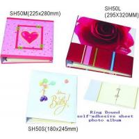 Cheap Ring bound self-adhesive photo album for sale