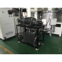 China 450KG Green Vacuum Pump System 1080 m³/h Oil Sealed Vacuum Pump Booster System on sale