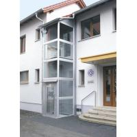 Cheap Beautiful space layout Home Elevator Lift Permanent magnet synchronous for sale