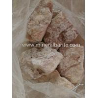 Cheap BaSO4 / SrSO4 95% Barite Minerals Ore For Barium Compounds for sale