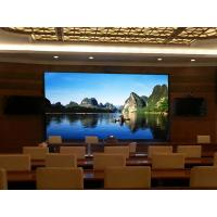 Cheap Fully Front Access Indoor Fixed LED Display Invisible Line Design For Meeting Room for sale