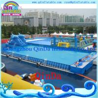 China inflatable pool frame swimming pool large inflatable pool for sale on sale