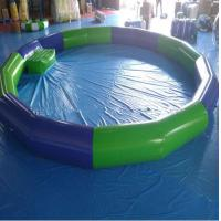 Cheap High Strength PVC Swimming Pool , PVC Inflatable Lap Pool  4.5M*4.5m For Kids for sale